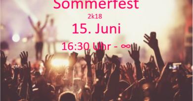 Sommerfest am 15.06.2018