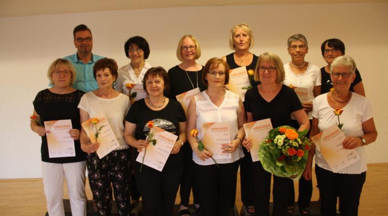 Tanzgruppe absolviert erstmals Tanzsportabzeichen