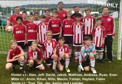 U13 Turnier-Zeltlager vom 20.07. bis zum 22.07 in Maßbach …wir sind #ZSMMN groß!