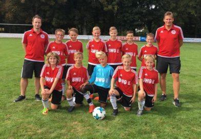U13: JFG Werngrund – TSV Bergrheinfeld 1–3