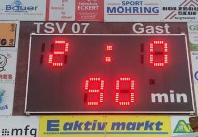 Fussball: TSV 07 I : TSV Münnerstadt    2 : 0 (1:0)