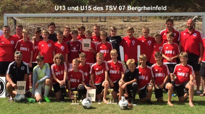 U13 und U15  Turnier-Zeltlager-Wochenende in Maßbach…