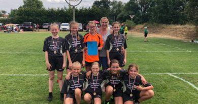 Unsere Mädels der Jugend 12/1 holten sich die Meisterschaft und belegten an der Kreismeisterschaft den 2. Platz